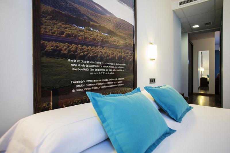 Alojamiento en baeza con habitaciones dobles con camas de for Hoteles con habitaciones dobles comunicadas
